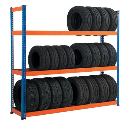 light duty tire rack, light tire rack, light tire shelving, light storage tire rack