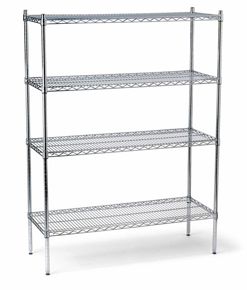 chrome wire shelving, china wire shelving, chrome plated wire shelving, China chrome wire shelving, heavy duty wire shelving, Ningbo wire shelving