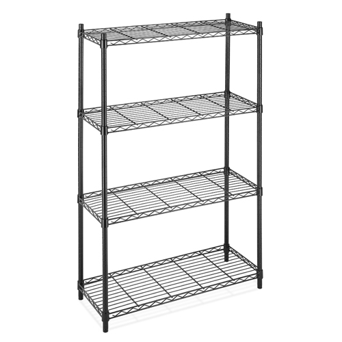 wire shelving, black wire shelving, powder coat wire shelving, ningbo wire shelving, China wire shelving