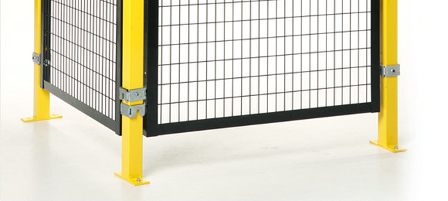 Safety guarding mesh, Machinery guarding system wholesale