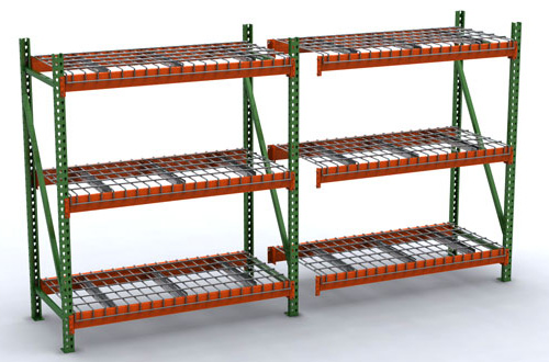 bulk rack with wire deck