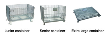 collapsible wire basket size