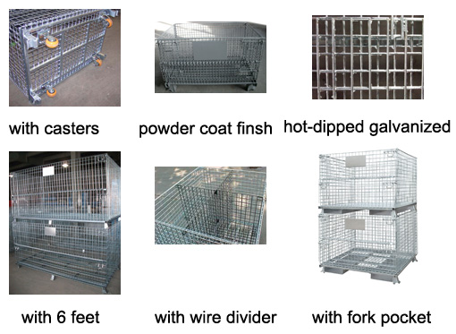wire basket options